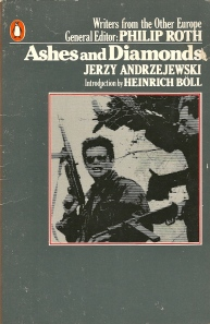 1980 Penguin paperback edition of Ashes and Diamonds.